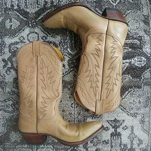 Vintage Nacona cowboy boots